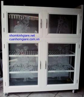 Tủ Bếp Nhôm Kính Cao Cấp Tân Bình Tphcm