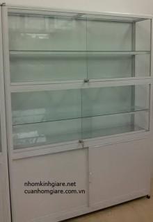 Tủ bán hàng nhôm kính và tủ quần áo nhôm kính sự lựa chọn của mọi nhà