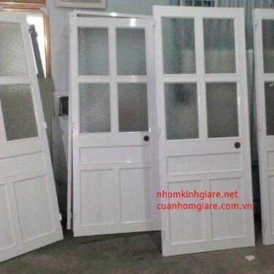 Lắp đặt cửa nhôm kính TpHCM mẫu cho phòng ngủ hệ 1000 kiểu dáng ĐẸP
