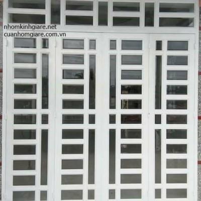 Cửa nhôm kính giá rẻ TpHCM mẫu thiết kế cao cấp ĐẸP chất lượng