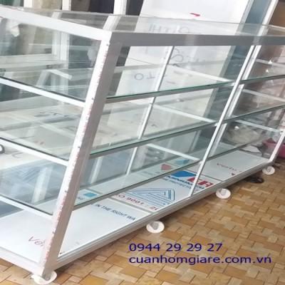 Những mẫu tủ nhôm kính trưng bày đẹp TpHCM kiểu dáng thiết kế ĐỘC ĐÁO