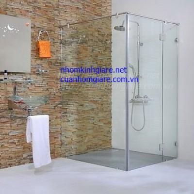 Phòng tắm kính cường lực TpHCM kiểu dáng thiết kế ĐẸP xin ra mắt