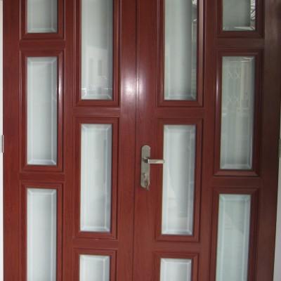 Báo giá các mẫu cửa nhôm kính sơn tĩnh điện giả gỗ ĐẸP TpHCM