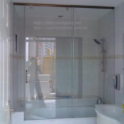Báo giá thi công phòng tắm kính cường lực mẫu MỚI kiểu dáng HIÊN ĐẠI